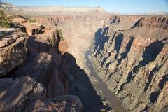 Toroweap förbiser, synvinkeln inom Grand Canyon medborgarePA Royaltyfri Fotografi