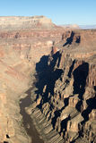 Toroweap Overlook, viewpoint within the Grand Canyon National Pa Royalty Free Stock Photos