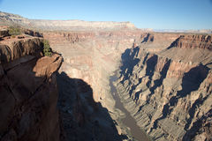 Toroweap Overlook, viewpoint within the Grand Canyon National Pa Royalty Free Stock Photography