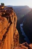 Toroweap Point At Sunrise Stock Image