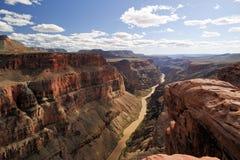 Toroweap punkt, grand Canyonnationalpark Royaltyfria Foton