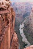 Toroweap punkt, grand Canyonnationalpark Royaltyfri Foto