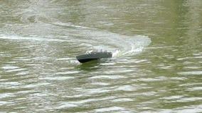 Torpedo Boat Model stock video