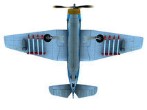 Torpedo bomber Stock Image
