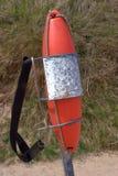 Torpedo lifebuoy Stock Image