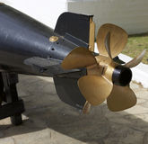 Torpedo propeller Royalty Free Stock Image
