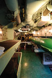 Torpedo Room. With bunk beds aboard a submarine at the Intrepid Museum in New York City Stock Photo