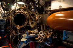 Torpedo Room. Inside The Pearl Harbor Avenger, USS Bowfin Royalty Free Stock Photos