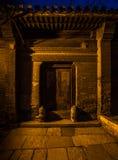 Torpfosten-Distichon in Peking Stockfotos