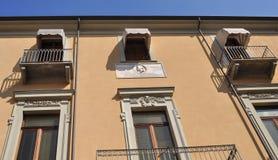 Torquato Tasso home in Turin Stock Photos