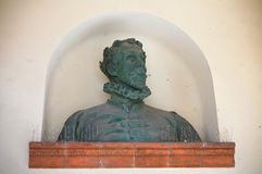 Torquato tasso statue. Ferrara. Emilia-Romagna. Italy. Stock Photography