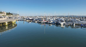 Torquay外面港口 免版税库存照片