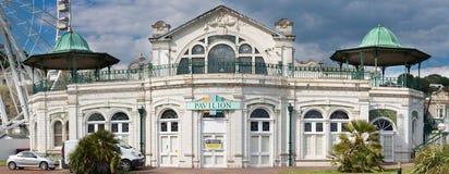 Torquay-Ansicht-Pavillon Lizenzfreie Stockbilder