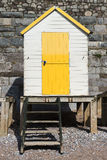 Torquay Beach Huts Royalty Free Stock Photo