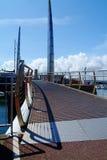 Torquay-Brücke lizenzfreie stockfotos