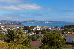 Torquay Coast Devon England From Paignton Royalty Free Stock Photography