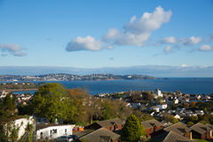 Torquay Devon coast and bay view England from Paignton Stock Photography