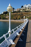 TORQUAY, DEVON/UK - JULY 28 : The Pier in Torbay Devon on July 2 Stock Image
