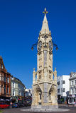 TORQUAY, DEVON/UK - JULY 28 : View of the clock tower in Torquay Stock Image