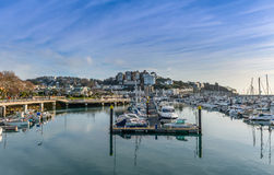 Torquay Harbor Royalty Free Stock Images