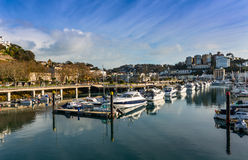 Torquay Harbor Royalty Free Stock Image