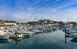 Torquay Harbor Royalty Free Stock Photography