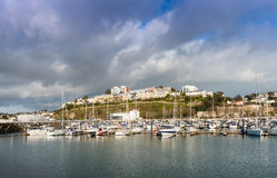 Torquay Harbor Royalty Free Stock Photo