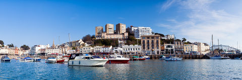 Torquay Harbour Stock Image