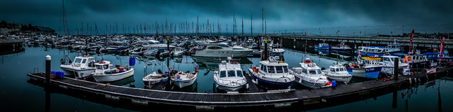 Torquay harbour Stock Photography