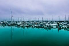 Torquay harbour Stock Photo