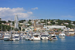 Torquay Harbour Stock Photo