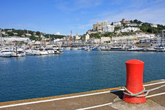 Torquay Harbour Royalty Free Stock Photos