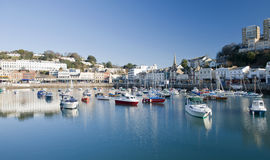 Torquay Inner Harbour royalty free stock image