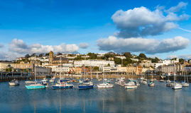 Torquay Inner Harbour Royalty Free Stock Photos