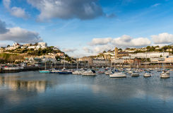 Torquay Inner Harbour Royalty Free Stock Photography