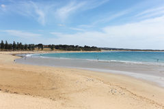 Torquay Main Beach - Torquay Victoria Australia Stock Photos
