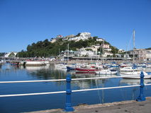 Torquay_marina Stock Photo