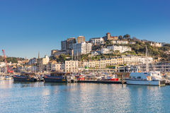 Torquay marina on the English Riviera Stock Images