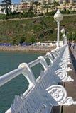 Torquay marina promenade Stock Photography
