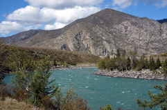 Torquoise-Fluss Lizenzfreies Stockbild