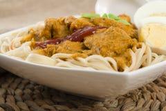 Torr curry Mee Arkivfoto