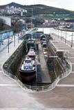 torr dock royaltyfri fotografi