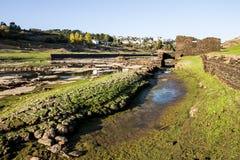 torr flod Arkivfoto