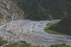 torr flod för underlag Royaltyfria Foton