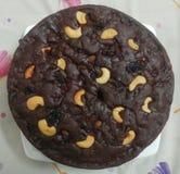 Torr frukt Plum Cake royaltyfria foton