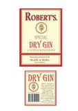Torr gin Royaltyfri Bild