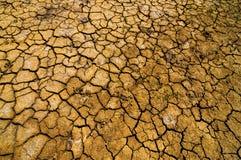 Torr knäckt jord Royaltyfri Foto