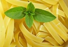 torr pasta för basilika Royaltyfri Foto