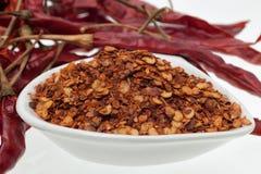 Torr peppar för röd chili Royaltyfri Foto