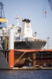 torr ship för dock arkivfoton